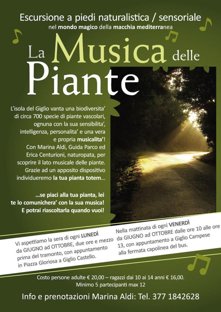 musica delle piante marina aldi guida parco